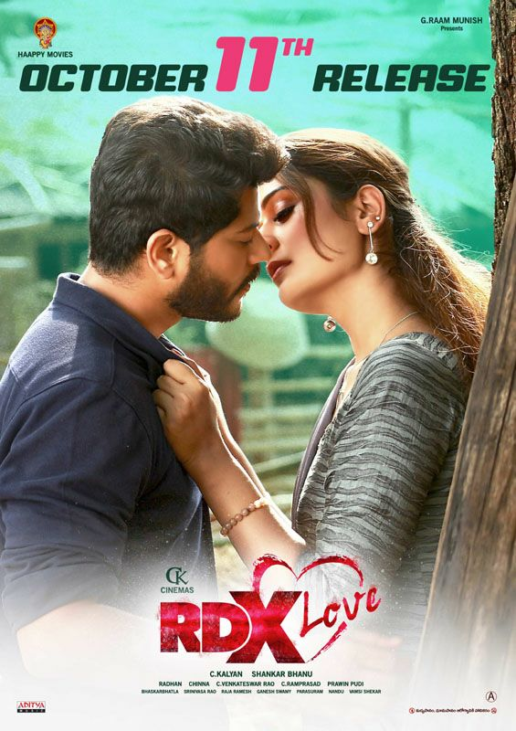 RDX Love (2019) Telugu 1080p WEB-DL ×264
