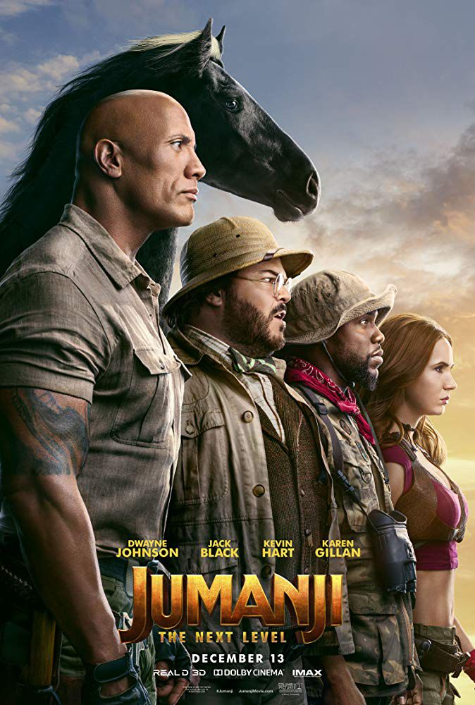 Jumanji The Next Level (2019) English 720p, 480p HDCAM x264