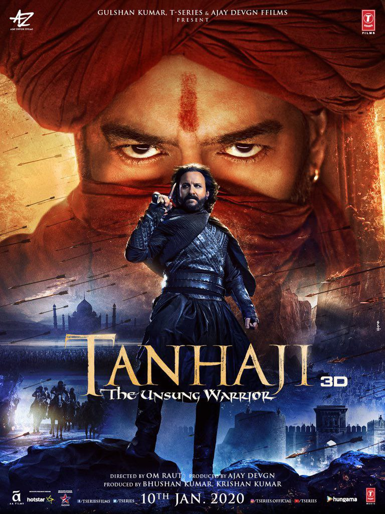 Tanhaji The Unsung Warrior | 2020 | Hindi | 1080p | 720p | 480p | HDcam