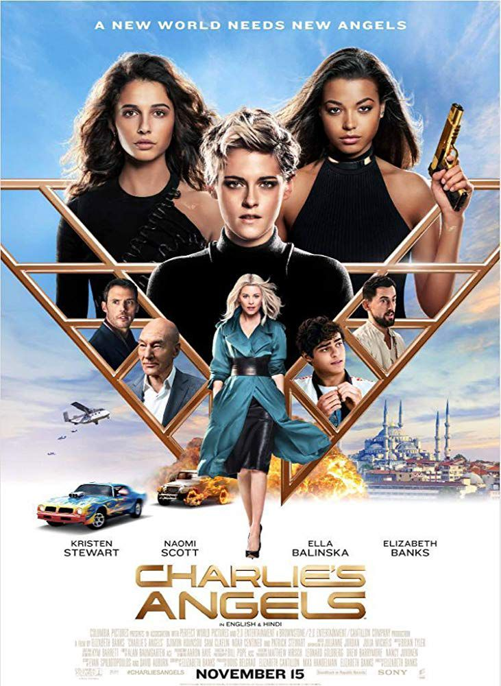 Charlie's Angels (2019) Dual Audio [Hindi Cleaned + English] 720p, 480p HDCAM x264