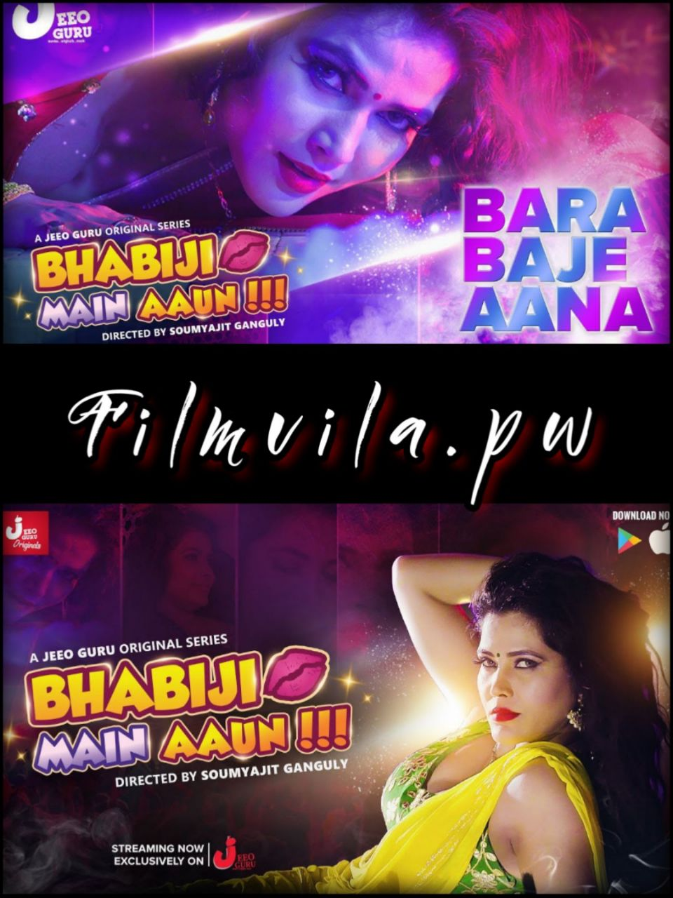 18+ Bhabhiji Main Aaun (2019) Hindi S01 Complete (Ep01-07) Hot Webseries By Jeeo Guru Original Hindi 720p,480p HDRip x264
