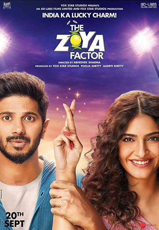 The Zoya Factor 【2019】Hindi 【ORG DD 5.1】Web-DL x264