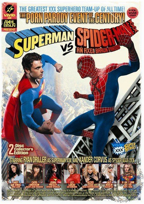 Superman vs Spider-Man XXX: A Porn Parody (2012)
