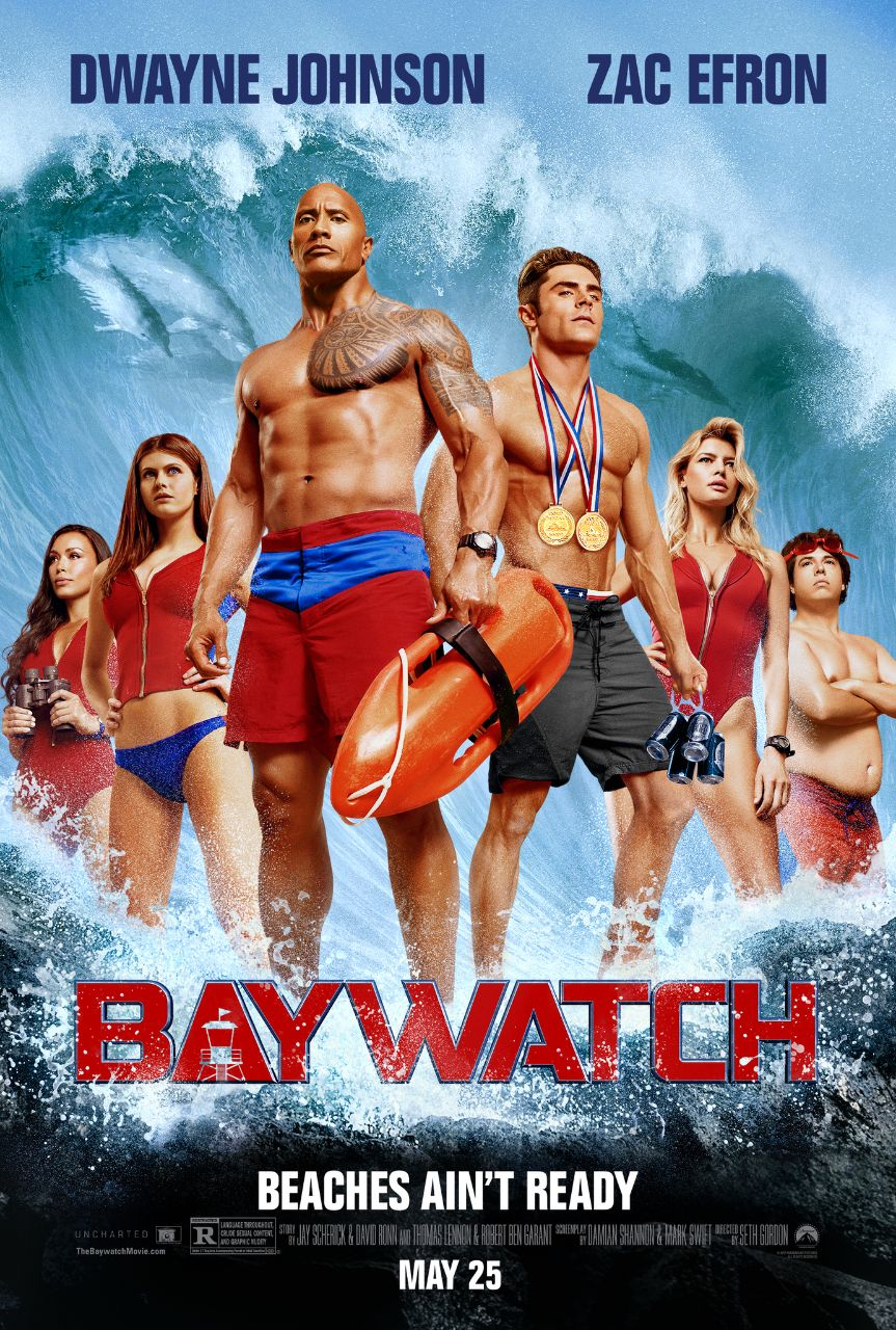 Baywatch (2017) UnRated Dual Audio [Hindi-DD5.1] 1080p BluRay ESubs