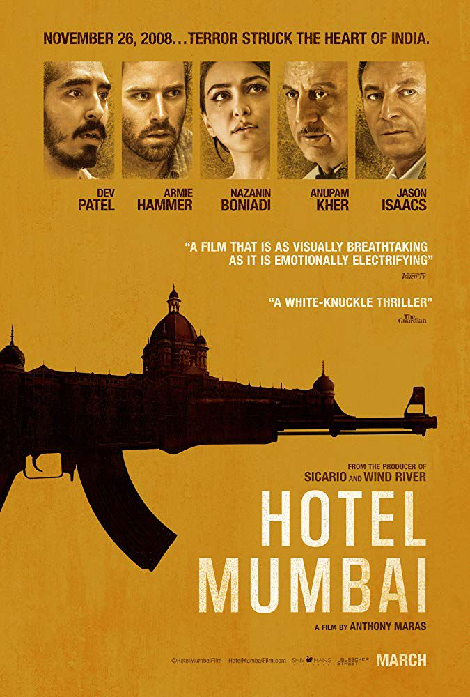 Hotel Mumbai 【2019】Hindi 【Cleaned】 + English 【ORG】Blu-ray×264